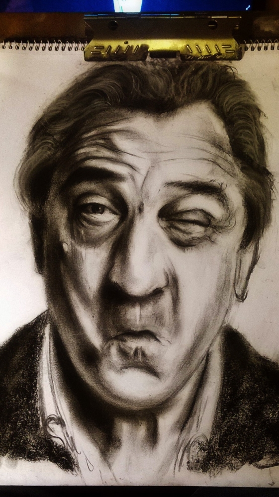 Robert De Niro by Nik